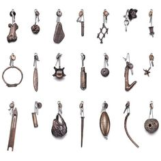 Chris Kabel casts found objects in bronze for Fogo Island hotel key fobs