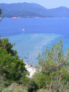 Signs of an Ancient Harbour in the Sea... Thassos Town