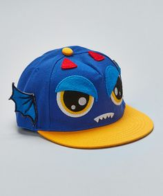5b091d8ff58 Gometiing LLC Blue Monster Baseball Cap. Baseball CapLittle  BoysSnapbackToddler BoysInfant BoysSnapback HatsBaby ...