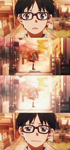 Shigatsu wa Kimi no Uso// Your Lie in April Finale.