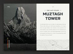 Dribbble - Mountain Bird - 09 Muztagh Tower by Viktor Vörös