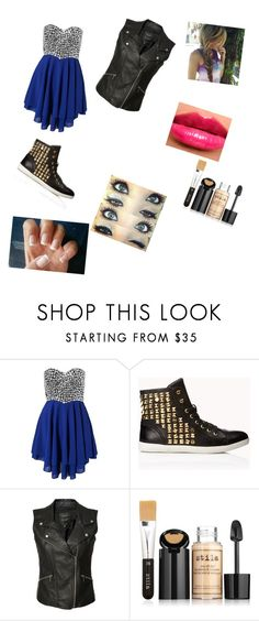 """""""Nice dress"""" by sydnik13 ❤ liked on Polyvore featuring Te Amo, Forever 21, Sanctuary, Burberry and Stila"""