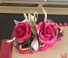 Sugar Flowers, Birthday Candles, Rose, Plants, Pink, Roses, Flora, Plant