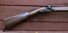 Appalachian Style Gun by Mike Millard    EXACTLY the type of rifle I need for my persona!!