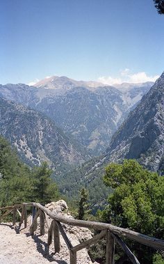 Samaria Gorge, Crete, Greece