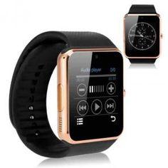 dbf4529a442 Bluetooth Smart Watch iOS Android Camera Sim Pedometer Sleep Tracker NEW