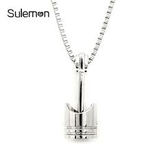 Sliver color jewelry final fantasy viii 8 sleep lion head squall mini engine piston pendant stainless steel necklace biker motorcycle enthusiast torque necklaces men punk rocking jewelry aloadofball Image collections