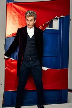 Doctor Who: Peter Capaldi unwraps the TARDIS - exclusive photoshoot
