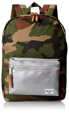 Herschel Supply Co Settlement Backpack Woodland Camo One Size -- You can get additional details at the image link.