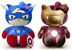 captain america hello kitty - Buscar con Google