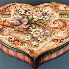 Cupid's Heart Box - JP1081