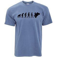 Amazon.com: Evolution of Motorbike T-Shirt Motorcycle Rider Bike Biker Gift Funny Cool: Clothing