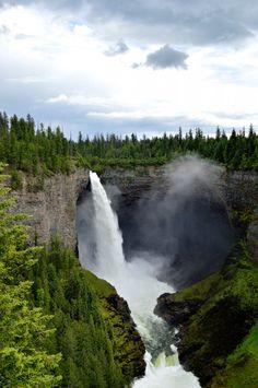 Helmcken Falls Wells Gray Provincial Park, BC