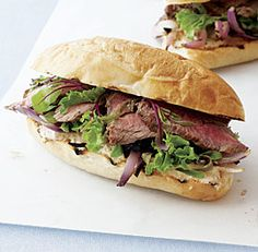 My recipe for Steak Sandwiches with Spicy Horseradish Mayonnaise recipe, from the Dec/Jan issue of Fine Cooking