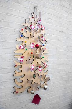 Cool Laser Cut Christmas Tree by MiscStudio on Etsy, £75.00