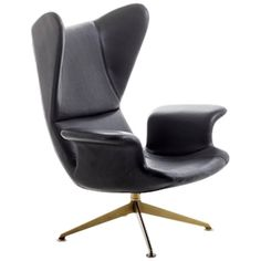 Longwave High Back Armchair with Swivel Base by Diesel with Moroso
