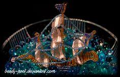 Boat.II by beads-poet.deviantart.com on @DeviantArt
