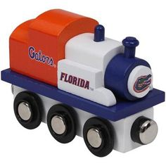 Florida Gators Wooden Team Train Engine