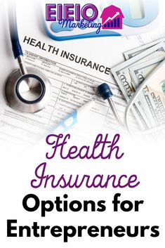 Health insurance is often cited as a barrier to having a full-time business in the USA... However, you CAN find insurance that fits your needs - if you plan for it and know what you're getting into... Make Money Blogging, How To Make Money, Health Insurance Options, Facebook Marketing Strategy, About Facebook, Growing Your Business, Entrepreneur, How To Plan