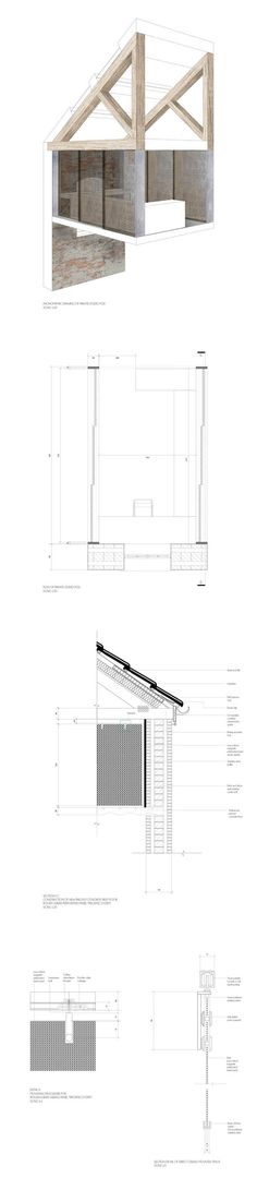 TECHNICAL DRAWING - DETAILING by Catt Godon, via Behance