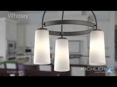 Whitley Collection 3 light Mini Chandelier in Olde Bronze & Richards Lighting (richardslight) on Pinterest