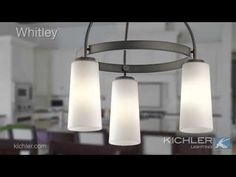 The transitional Whitley Collection from Kichler Lighting