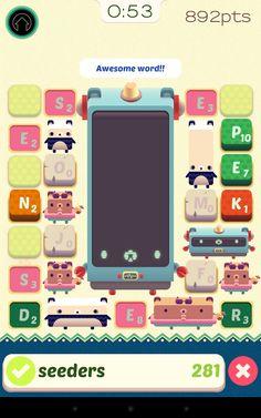 Alphabear English word game: captura de pantalla