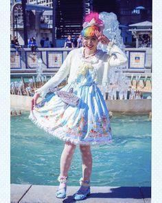 Model: Kammie Main Theme, Fashion Labels, Lolita Fashion, Ponytail, Pretty Girls, Harajuku, Cinderella, Fashion Show, Disney Princess