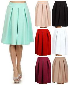 A line skirts on sale. These are modest and beautiful!
