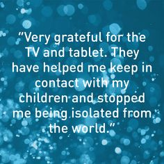 This male survivor of domestic abuse has moved on to his own accommodation, and uses technology to stay in touch with his children and the outside world.