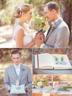 A Fairytale Inspired Wedding Desing Inspiration: Cinderella (shown above) Disney Inspired Wedding, Cinderella Wedding, Wedding Disney, Disney Weddings, Themed Weddings, Wedding Dress 2013, Wedding 2017, Dream Wedding, Blue Wedding