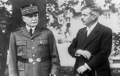 14 Apr 42: Marshal Philippe Pétain becomes chief of state of Vichy France, and Pierre Laval becomes chief of government. Laval thus assumes actual direction of the Vichy administration and the aging Petain remains to perform an essentially ceremonial function. Much of the French public initially supported the new government despite its pro-Nazi policies, seeing it as necessary to maintain a degree of French autonomy and territorial integrity. #WWII #History