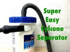 Easy cyclone separator - YouTube