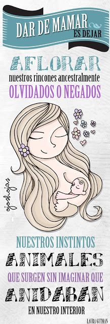 OJOSHOJAS feminity maternity woman illustration art breastfeeding
