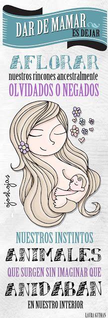OJOSHOJAS feminity maternity woman illustration art breastfeeding
