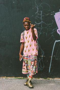 Street Style: Afropunk Festival 2014 | Fashion Magazine | News. Fashion. Beauty. Music. | oystermag.com