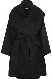 Bottega VenetaBelted double-faced cashmere coat