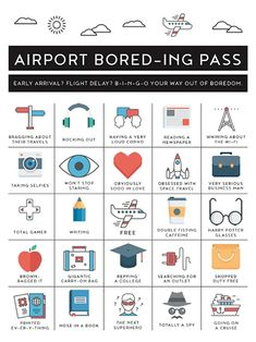 Printable Airplane Activity for Kids and Teens Airplane Activities, Activities For Teens, Travel Activities, Travelling Tips, Packing Tips For Travel, Travel Hacks, Carry On Packing, Backpacking Tips, Travel Ideas