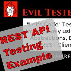 Released a YouTube video showing Exploratory REST API testing: wth PostMan and supported by Java Abstraction code http://buff.ly/2qdDIxc clickable link in profile
