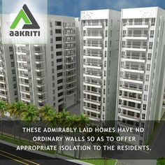 Admirably laid homes have no ordinary walls so as to offer appropriate isolation to the residents. #Flats, #villas and #apartments #sale #Hyderabad http://www.aakritihousing.com/