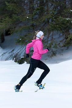 Shut up!!! Snowshoe running???