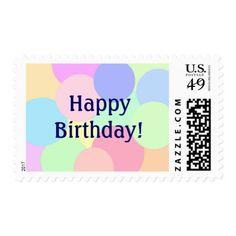 Happy Birthday! Postage