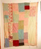 Gees Bend quilt back