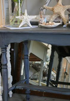Reloved Rubbish: Old Violet Console Table
