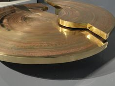 Armand Jonckers; Engraved Brass Coffee Table, 1979. - Google Search