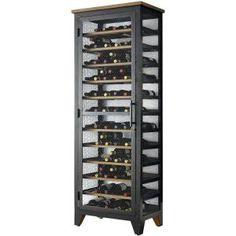 Wine Enthusiast Corsica Wine Storage Locker 254 60 193 - The Home Depot Unique Wine Racks, Rustic Wine Racks, Wine Storage, Locker Storage, Wine Rack Design, Locker Designs, Wine Collection, Wine Fridge, Italian Wine