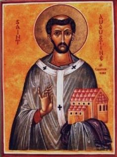 Saint Augustine of Canterbury, the first Archbishop of Canterbury