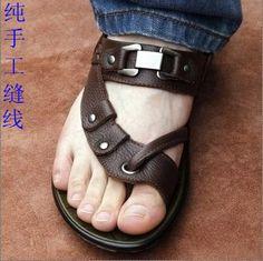 Envío gratis 2015 zapatos vietnam sandalias masculinas hombres de verano sandalias de hombre