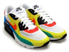 "I dig these, too. Nike Air Max 90 Hyperfuse ""Olympic""  #nike #sneakerhead #sneakers"
