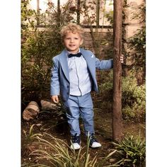 Ολοκληρωμένο κουστουμάκι βάπτισης Dolce Bambini με σακάκι σε σιέλ αποχρώσεις, Βαπτιστικό κουστουμάκι πλήρες σετ επώνυμο, Βαπτιστικά ρούχα για αγόρι με παντελόνι, πουκάμισο, σακάκι, παπιγιόν και καπελάκι, Βαπτιστικά ρούχα αγόρι Dolce Bambini τιμές eshop Blazer, Jackets, Style, Fashion, Down Jackets, Swag, Moda, Fashion Styles, Blazers
